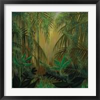 Framed Jungle Memory
