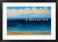 Framed Summer Sailing