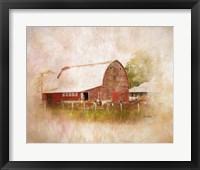 Framed Sully's Barn