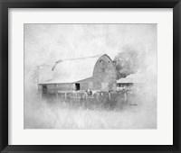 Framed Sully's Barn II