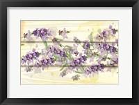 Framed Floral Lavender III