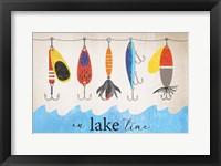 Framed Lake Time