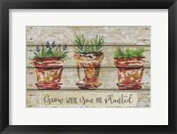 Framed Grow Where
