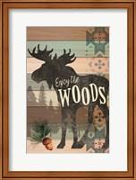 Framed Enjoy the Woods