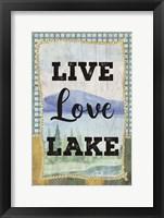 Framed Love, Love, Lake