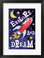 Framed Explore and Dream