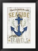 Framed Seaside Travels