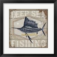 Framed Deep Sea Fishing