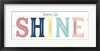 Framed Shine