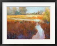 Framed Running River