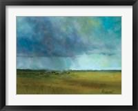 Framed Landscape Abstract
