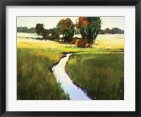 Framed River Runs Through
