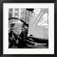 Framed Car Interior