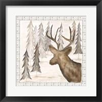 Framed Deer w/ Border