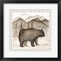 Framed Bear w/ Border
