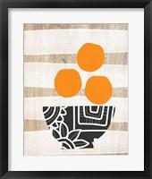 Framed Bowl of Oranges