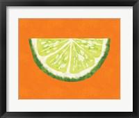 Framed Lime Wedge