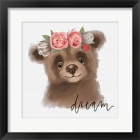 Framed Dream Bear