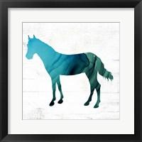 Framed Horse III