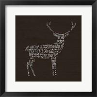 Framed Deer Lodge
