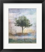 Framed Tree Collage I