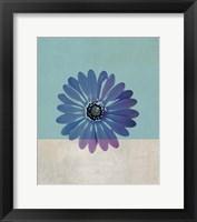 Framed Blue Flower