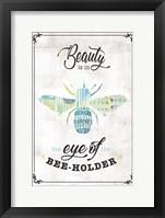Framed Bee-Holder