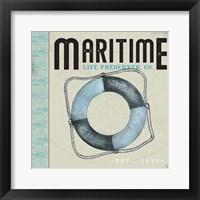 Framed Maritime