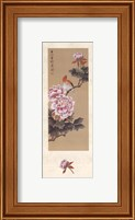Framed China Blossom I