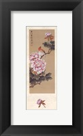 Framed China Blossom I
