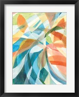 Framed Colorful Abstract I