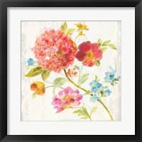 Framed Full Bloom IV