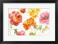 Framed Full Bloom I