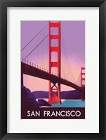 Framed San Francisco I