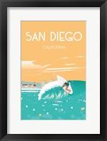 Framed San Diego