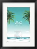 Framed Malibu