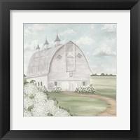Framed Mustardseed Barn