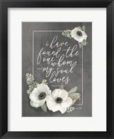 Framed My Soul Loves