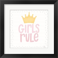 Framed Girls Rule