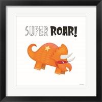 Framed Super Roar