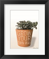 Framed Succulent Grow Your Own Way
