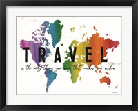 Framed Travel is the Only Thing You Buy