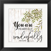 Framed You are Fearfully and Wonderfully Made
