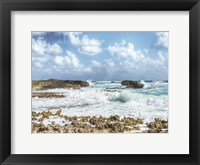 Framed Waves Crashing