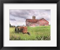 Framed Williamsport Barn