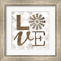 Framed Love with Windmill III