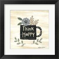 Framed Think Happy