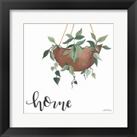 Framed Home Is Where Your Plants Are
