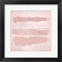 Framed Pink Glitter II
