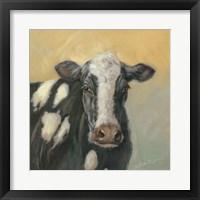 Framed Pretty Cow